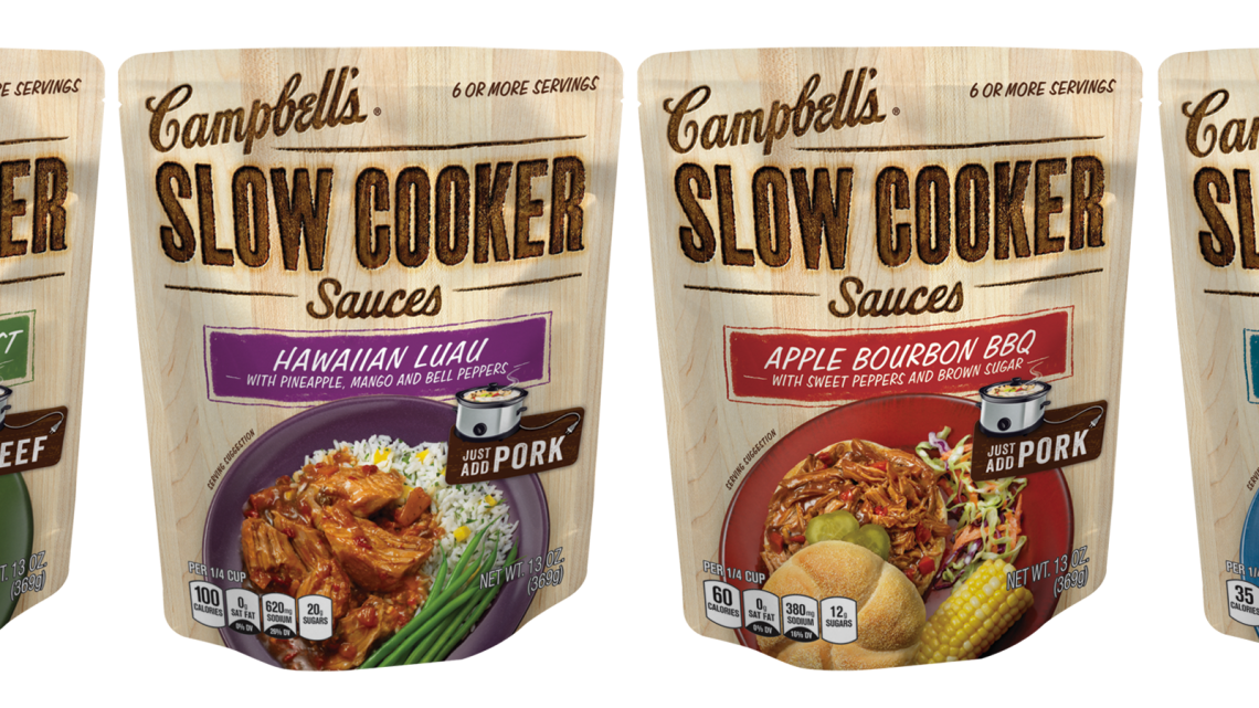 Campbell's Slow Cooker Sauces - Line up